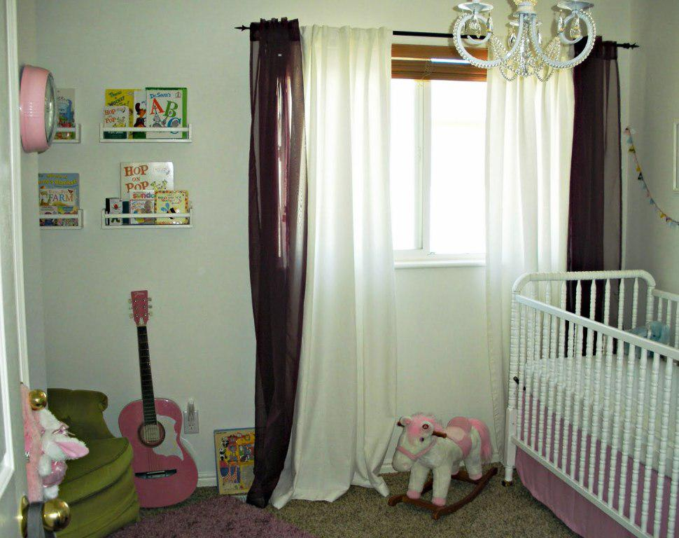 Pink And Brown Curtains For Nursery Curtains White And Pink Nursery Ideas For Baby Room Pink And