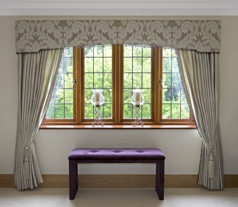 Contemporary window valances updating your interior Contemporary drapes window treatments