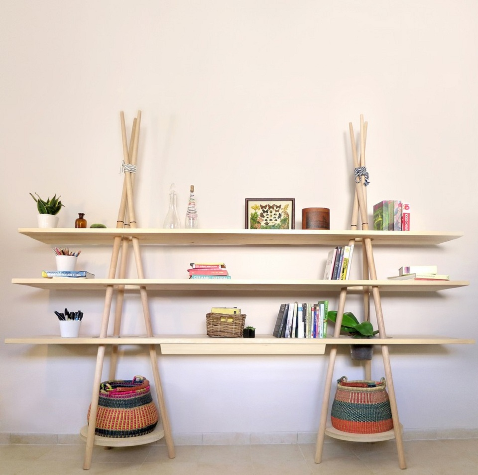 Some creative shelving ideas that you can try at home for Creative shelf ideas