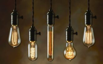 5 unique old fashioned light bulb in different shapes for amazing home light fixture