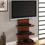 Altra-Furniture-Traditional-AltraMount-TV-Stand-from-metal-engineered-wood-paper-laminate-construction-with-cherry-finish-and-accommodate-for-60-inch