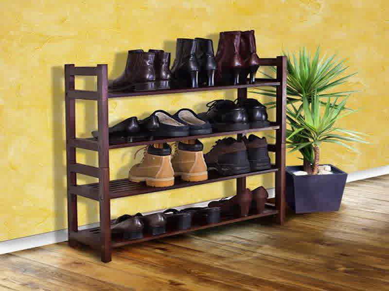 Entryway shoe storage ideas homesfeed Living room shoe storage ideas