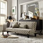 Awesome Oxford Creek Furniture Of Sofa With Stylish Pattern And Fur Rug