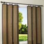 Bamboo Ring Indoor Outdoor Curtains Design With Panel