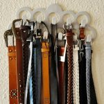 Belt Storage Ideas With Hanger