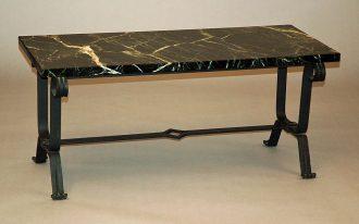Black Wrought Iron Sofa Table