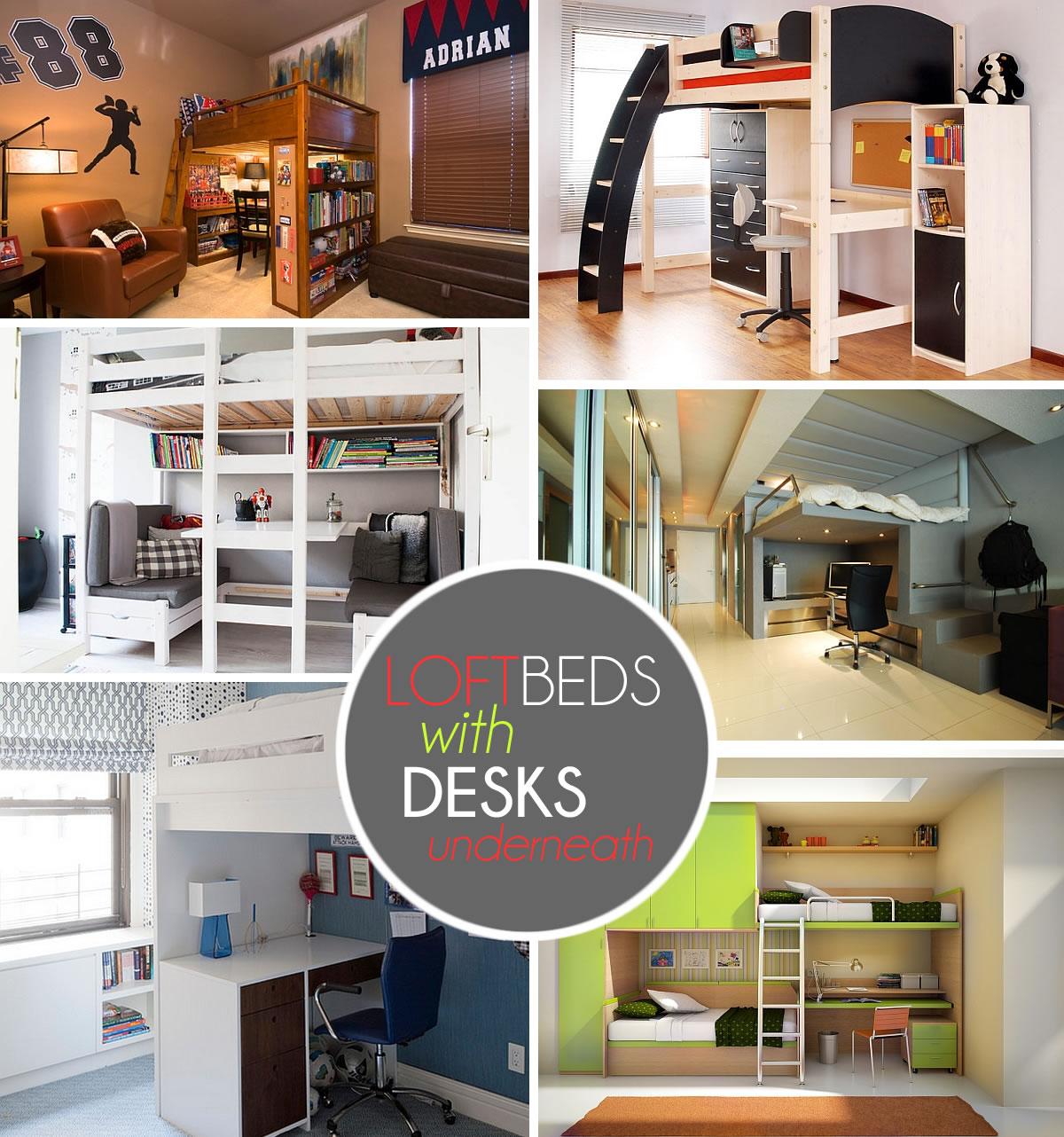 Bunk Beds With Desks Underneath