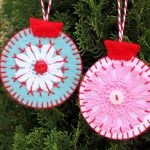 Christmas Tree Holiday Ornaments To Make With Colorful Style