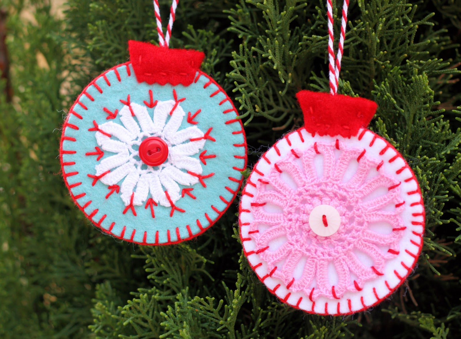 Christmas Tree Decorations To Make : Holiday ornaments to make homesfeed