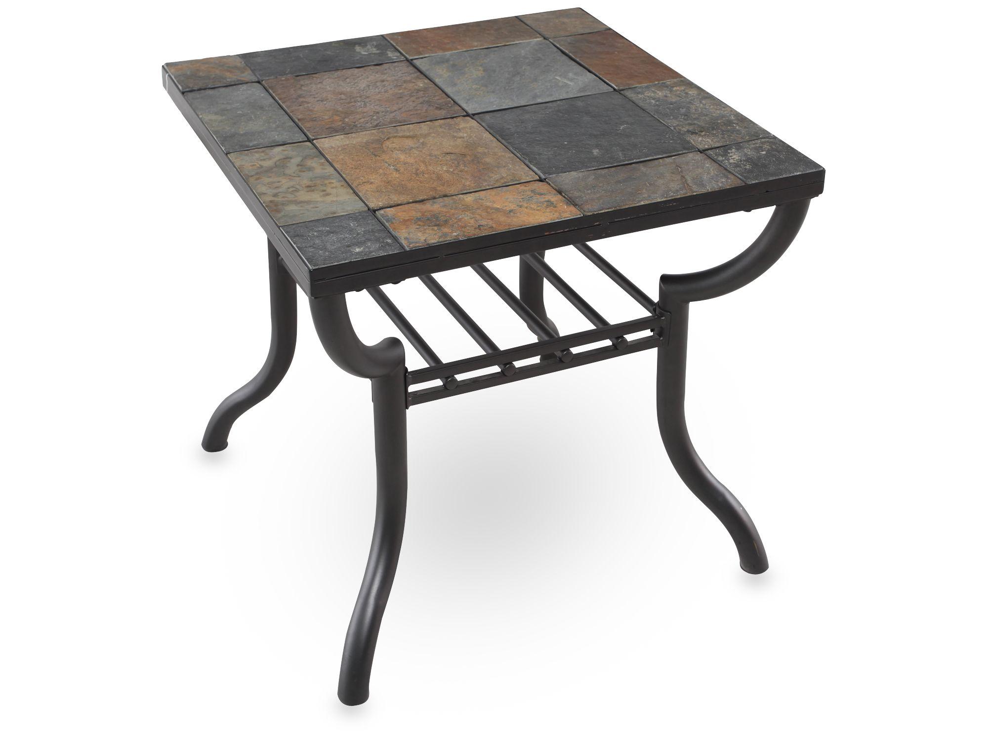 Slate End Tables Homesfeed