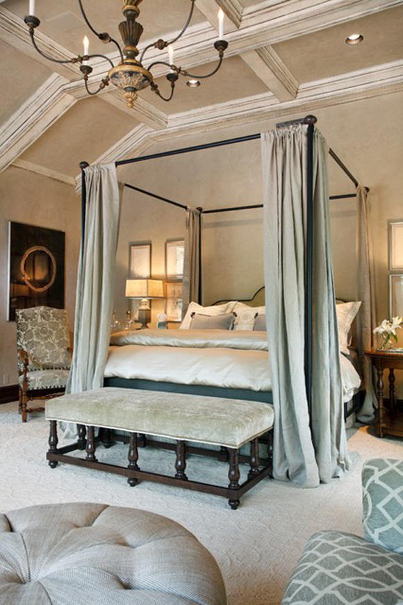 Iron Canopy Bed Frame Homesfeed