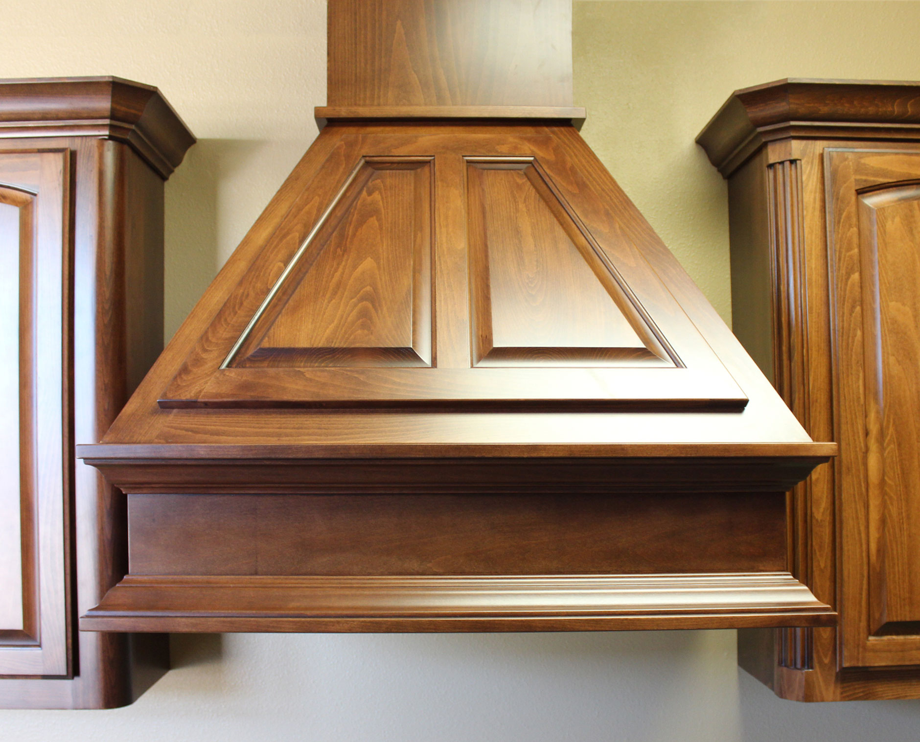 Wood Chimney Hoods ~ Wood vent hood homesfeed