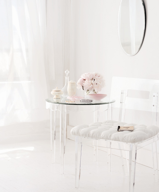 Acrylic Accent Table Product Variants
