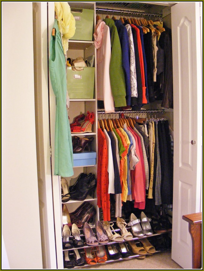 Closet Organizer Idea Designed By Walmart