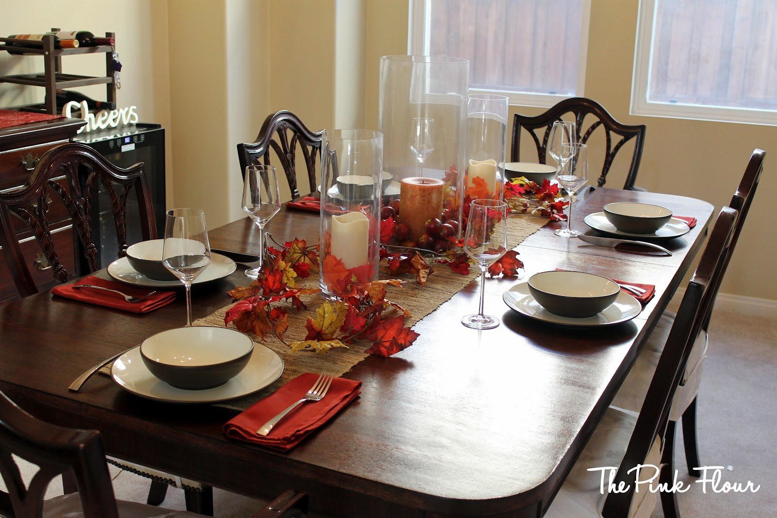fall centerpieces for dining room table | Centerpieces for Dining Room Tables | HomesFeed