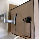 Cool Flat Screen TV Covers With Extra Back Storage