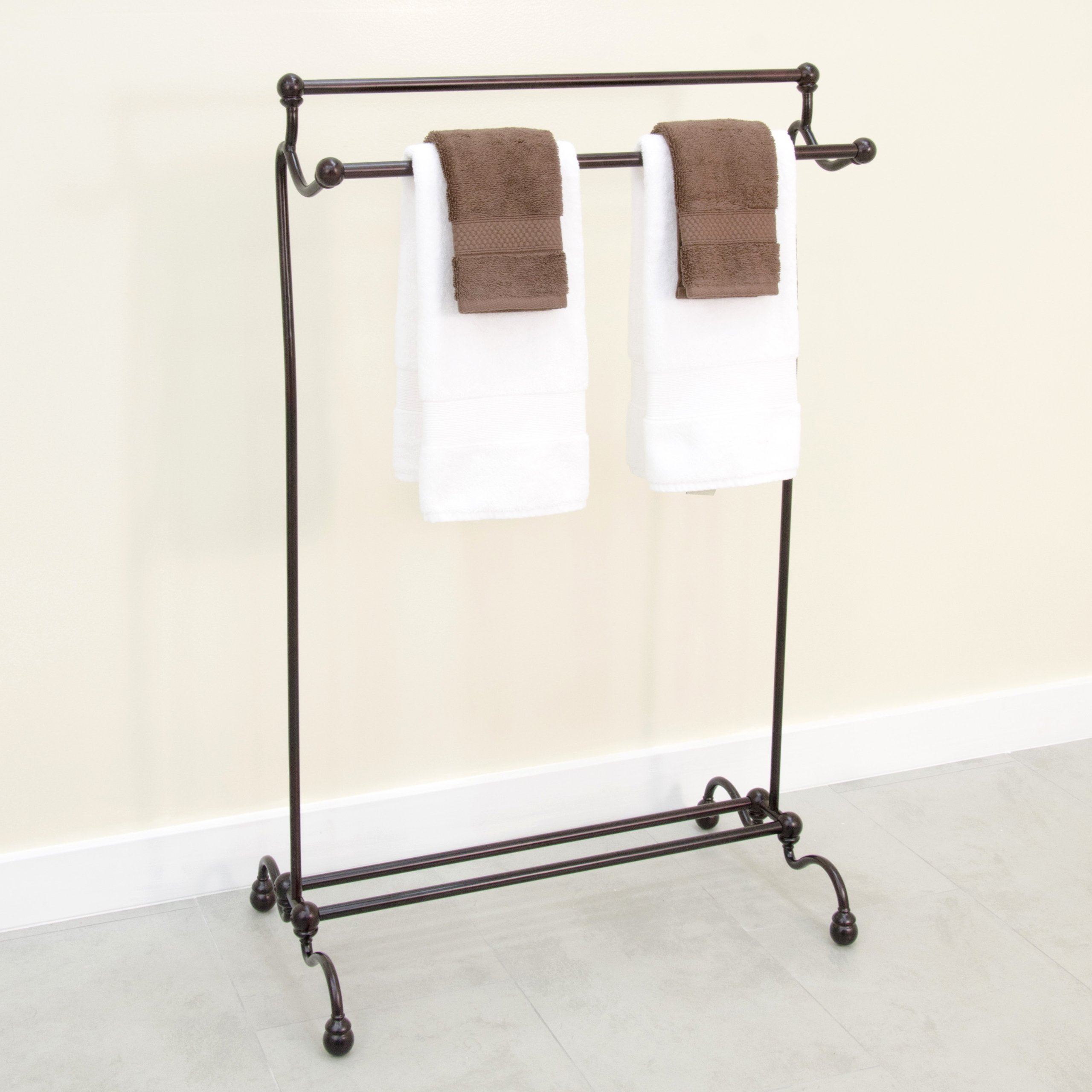 free standing towel rack for bathroom  home design ideas - towel rack bathroom racks stand standing part