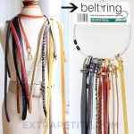Cool Way For Belt Storage Ideas