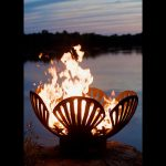 Cool fire pit for outdoor