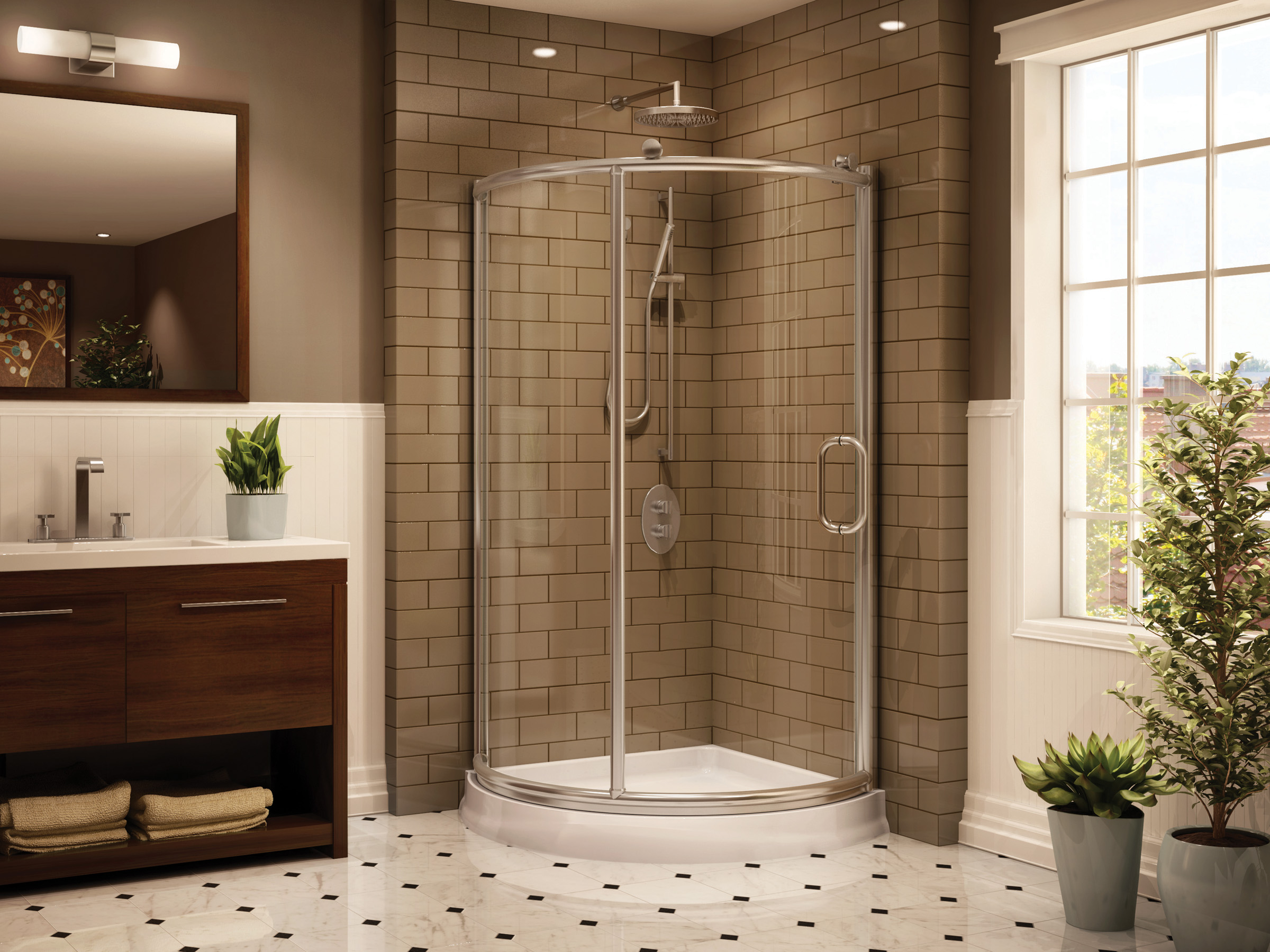 Corner Shower Units | HomesFeed