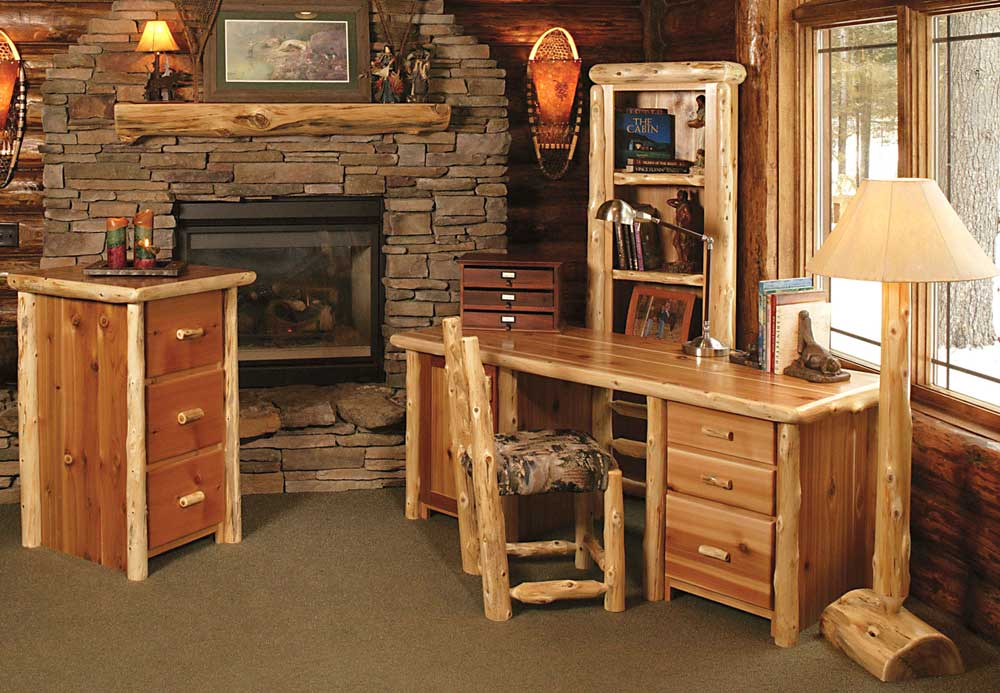 Rustic Office Desk Home Design Inspiration Decor