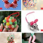 DIY Candy Christmas Holiday Ornaments To Make