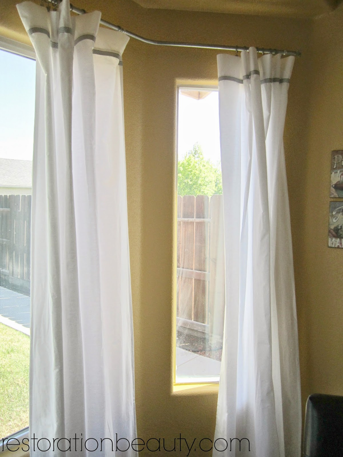 curtains pointgallery white choose curtain rod ideas of nice image