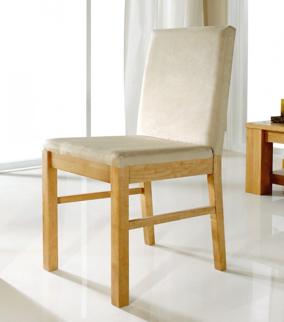 White upholstered dining chair homesfeed for Upholstered dining chairs