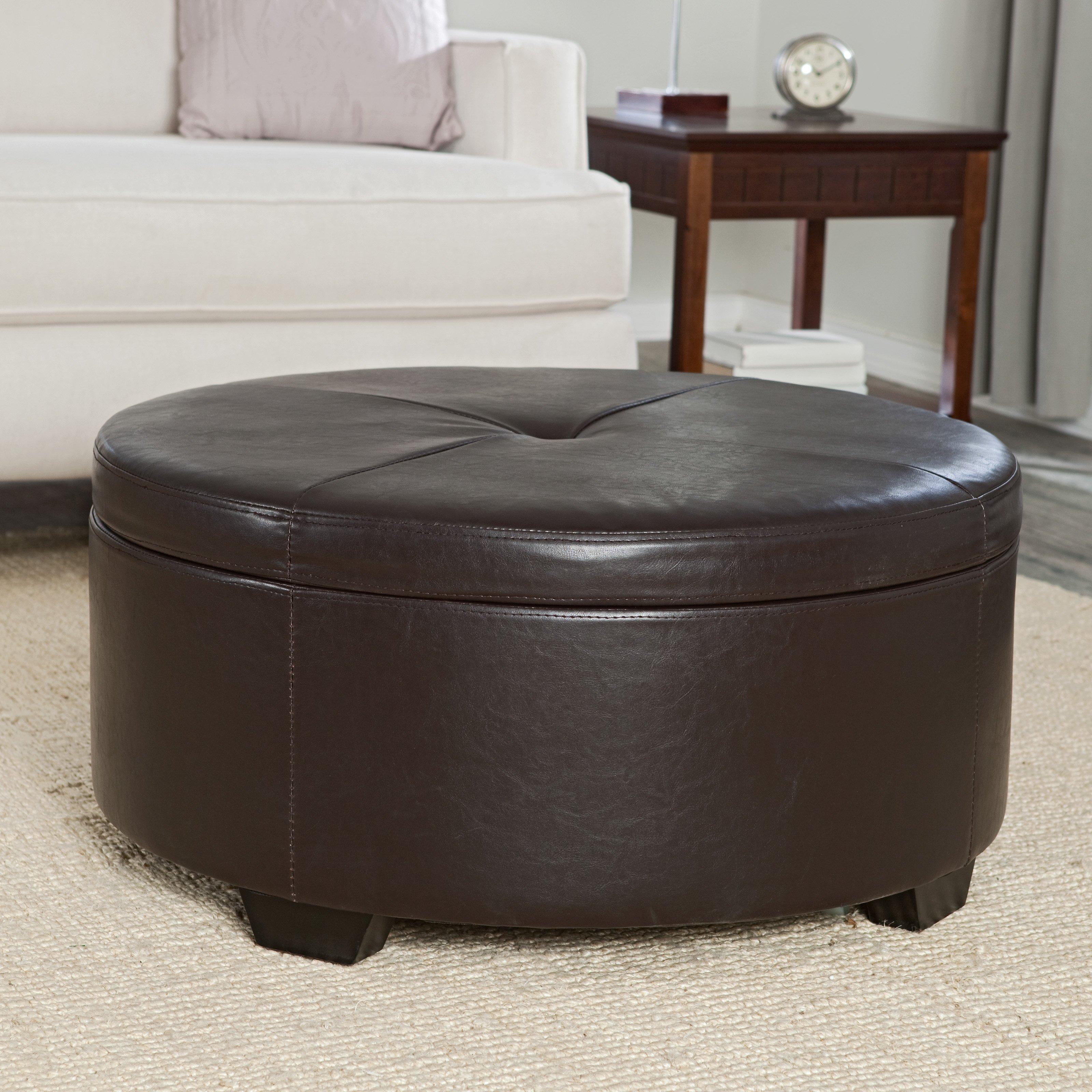 Small Round Ottoman