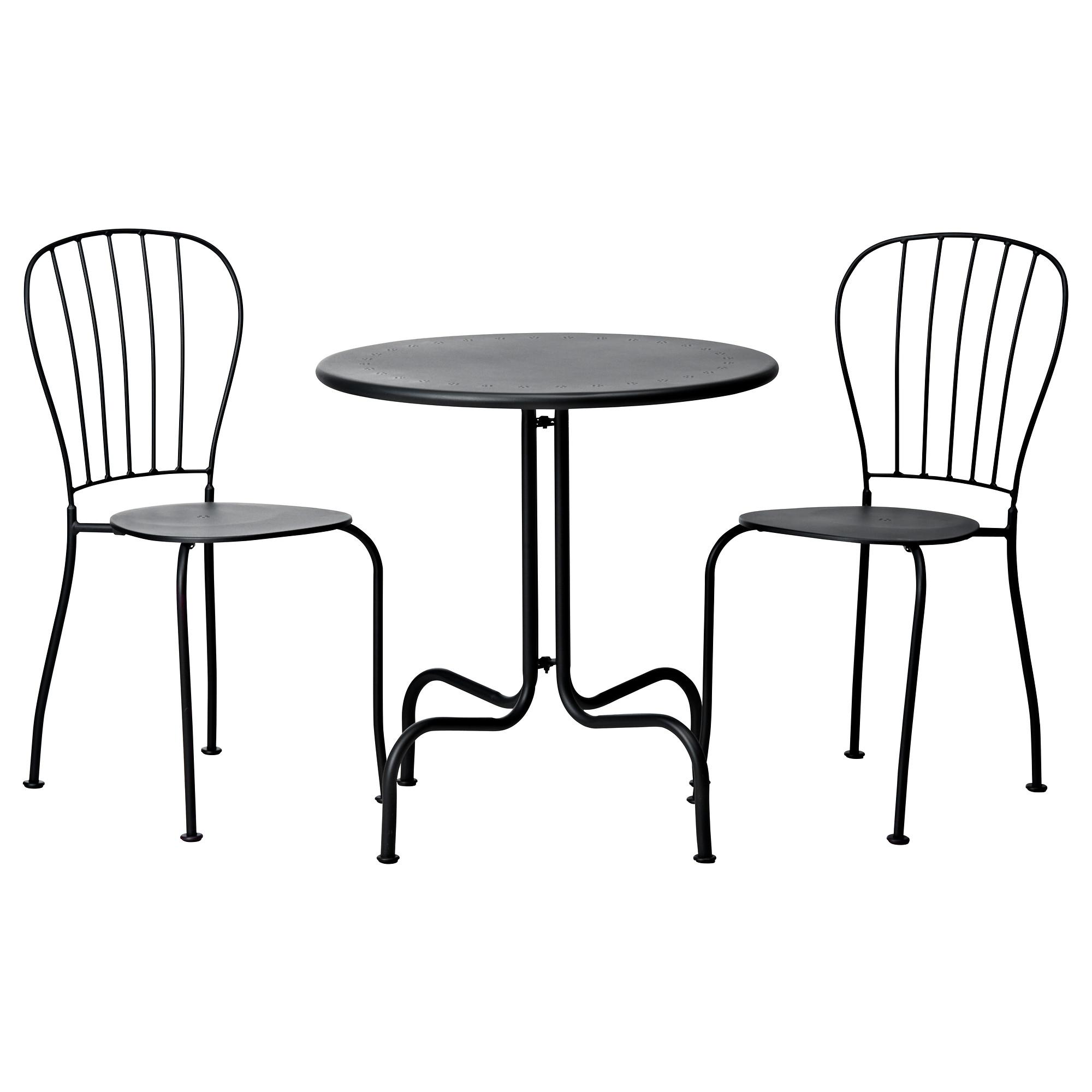 Ikea bistro set homesfeed dark steel of ikea bistro set watchthetrailerfo