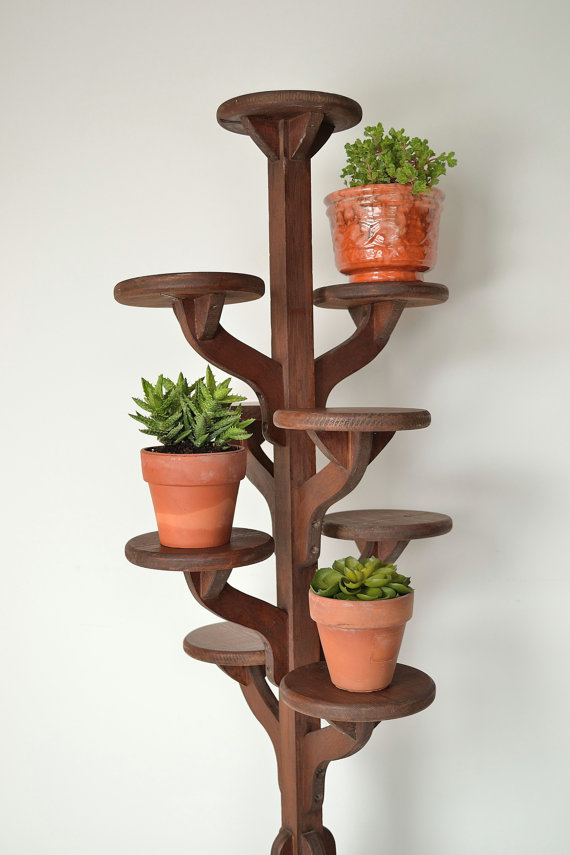 Wood Flower Stand Designs : Tall plant stands decorative and functional tool for