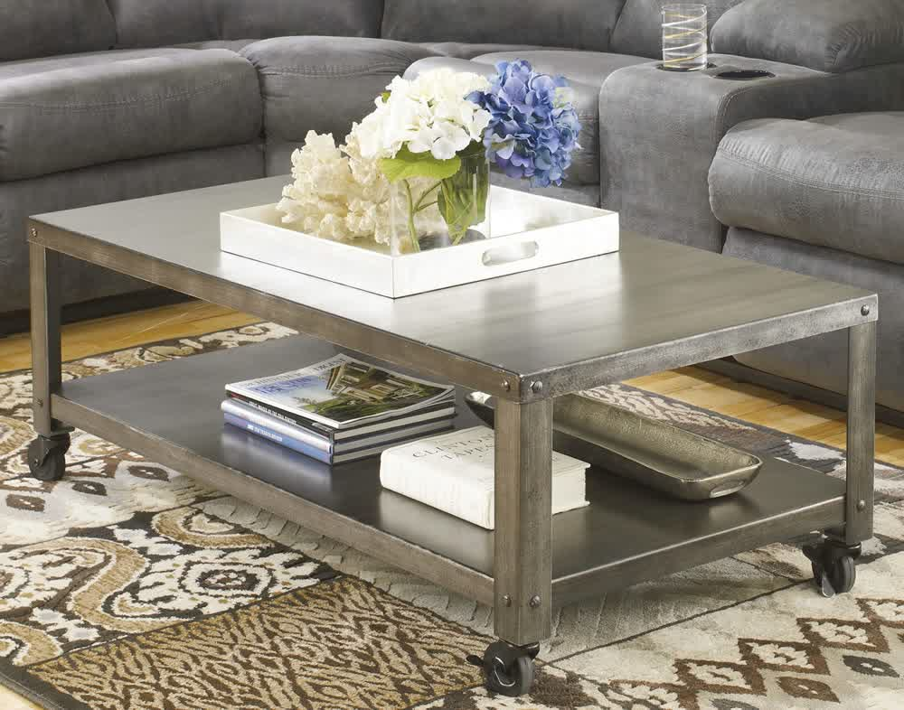 Coffee Table on Casters Move It Anytime HomesFeed