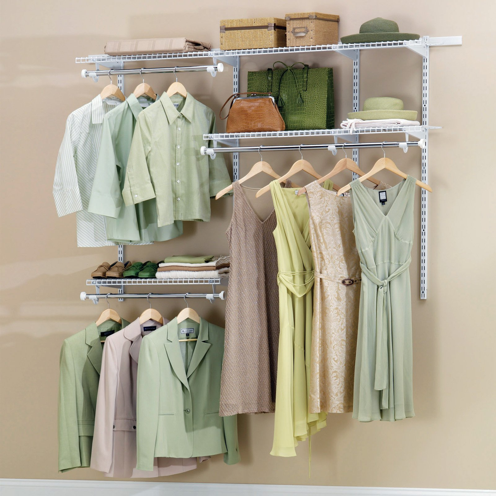 Doorless Cloth Closet Organizer By Walmart