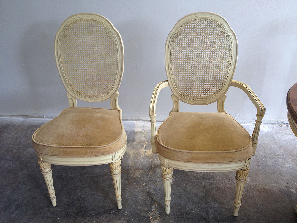 dining chair can be categorized as unique chair it is cane back dining
