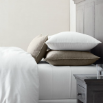 Elegant White Restoration Hardware Linen Sheets