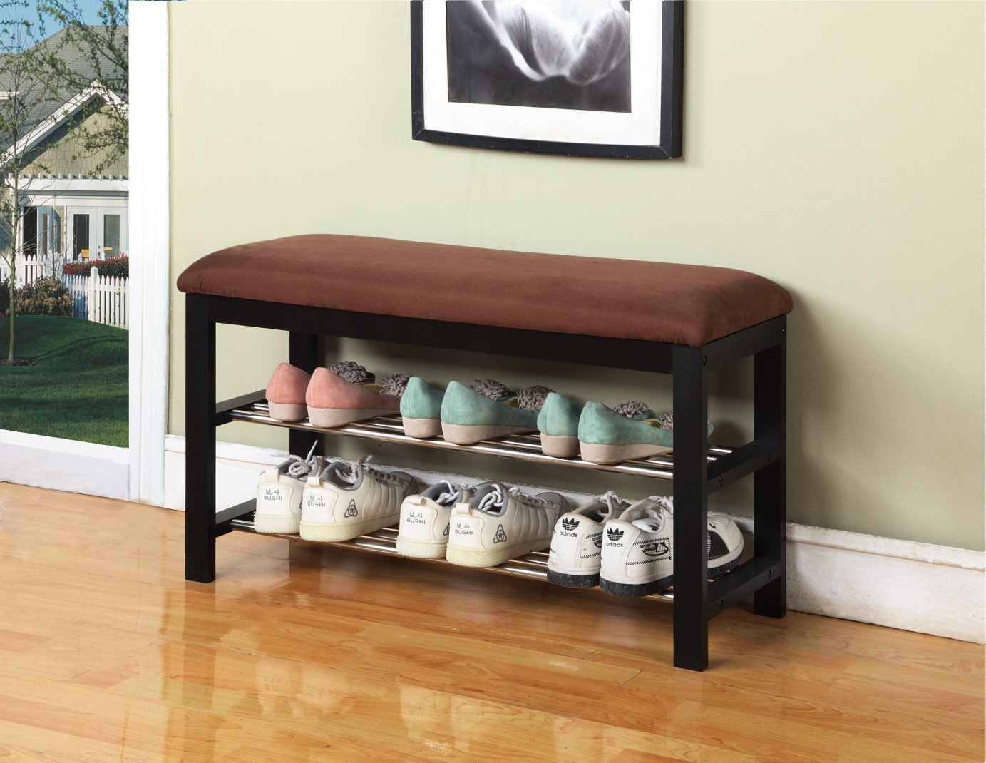 Exceptionnel Entryway Bench With Shoes Storage Underneath