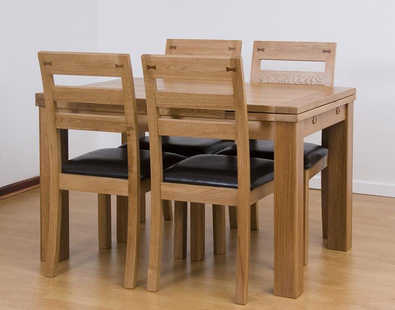 Expandable Small Rectangular Dining Table For Small Spaces