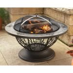 Fire Pit Table Idea With Enclosure