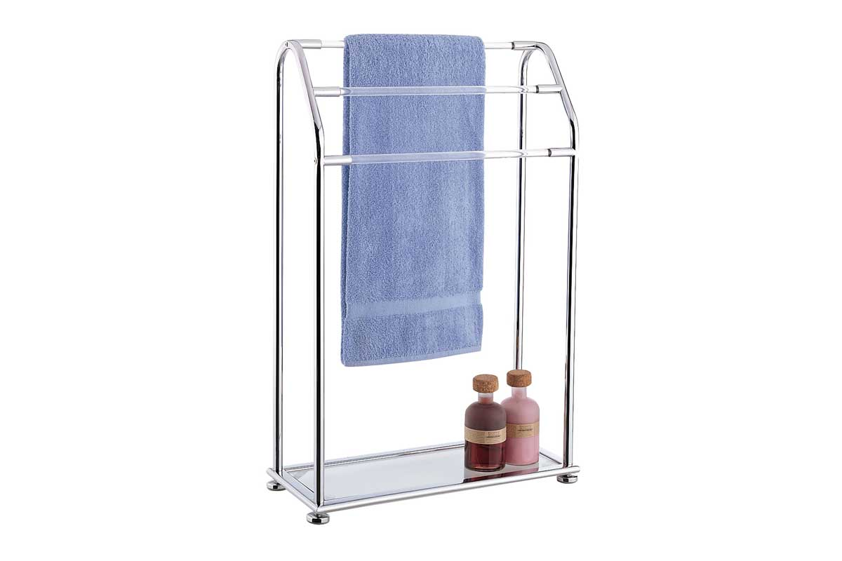 free standing towel rack for bathroom  home design ideas - charming free standing towel racks homesfeed part