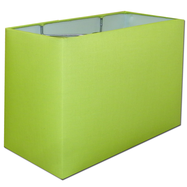 Rectangle lamp shades design variants and images homesfeed fresh green rectangle lampshade idea greentooth Images