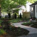 Front Yard Landscape Plans With Pathways