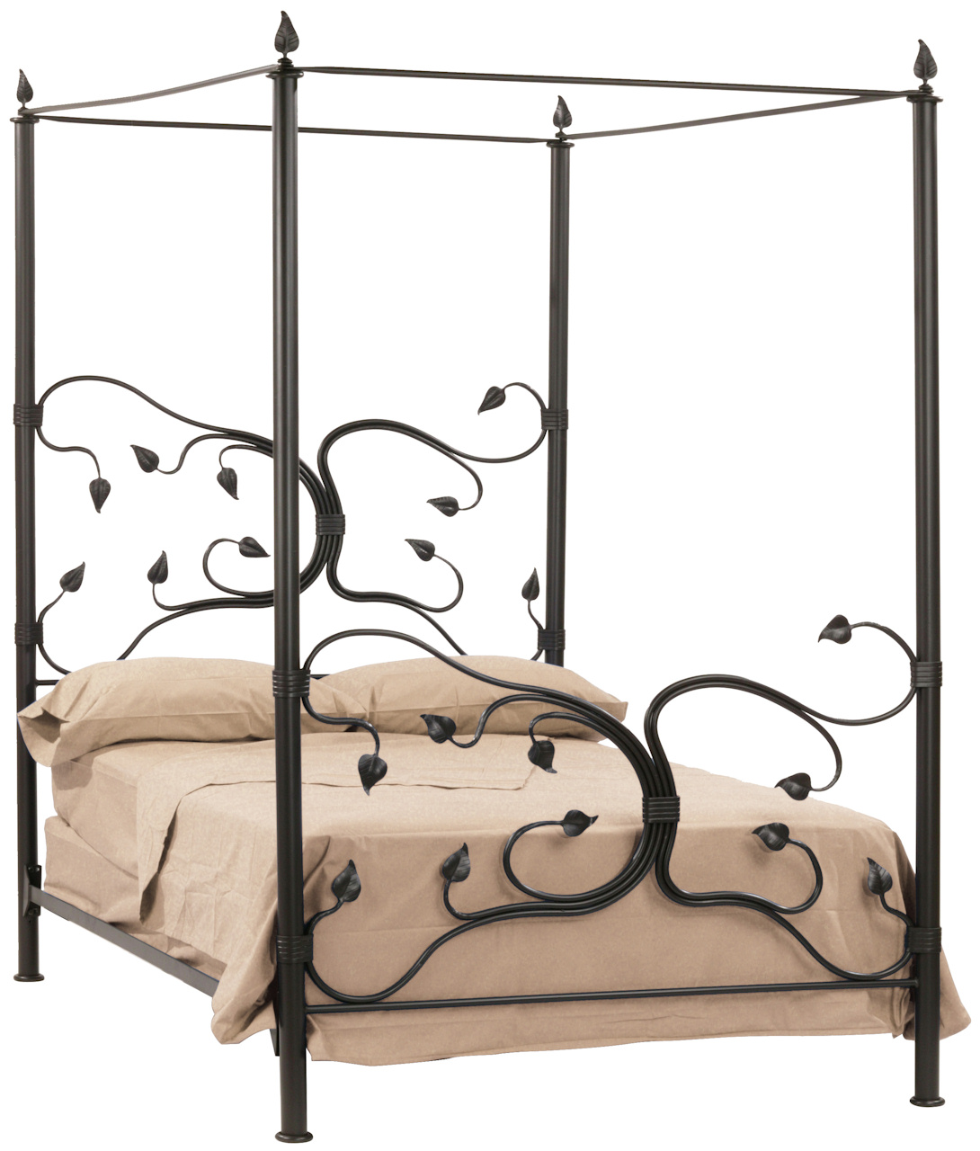 Iron Canopy Bed Frame | HomesFeed