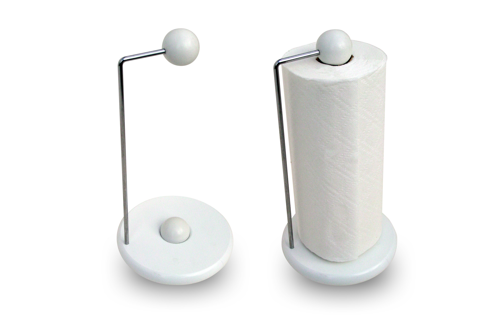 Modern Paper Towel Holder | HomesFeed
