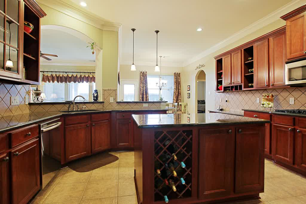 kitchen island with wine rack design options homesfeed