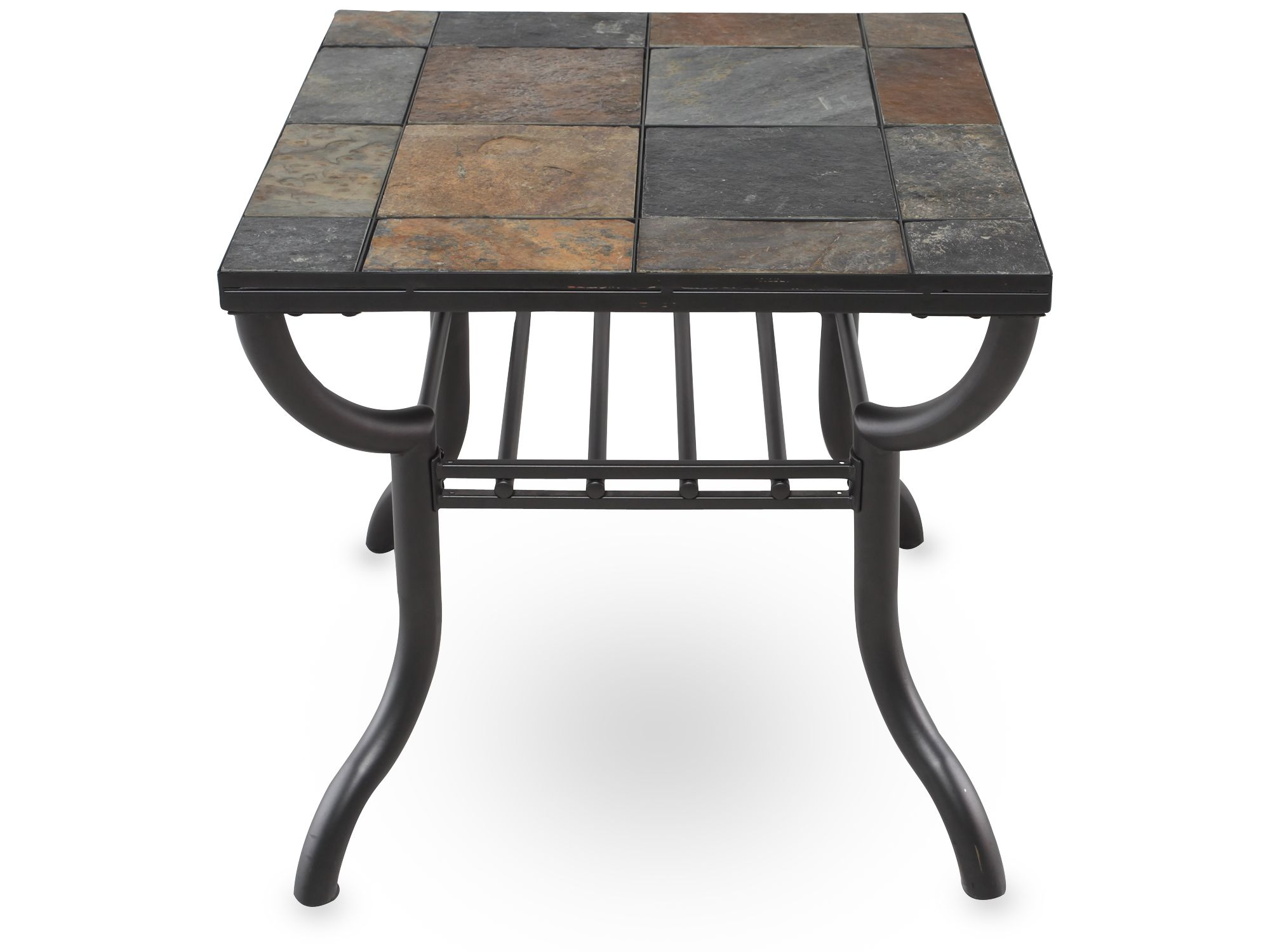 Slate end tables homesfeed for Table furniture