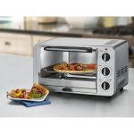 Grey Metal Modern Small Stove Oven