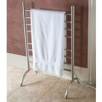 Grey Steel Free Standing Towel Racks