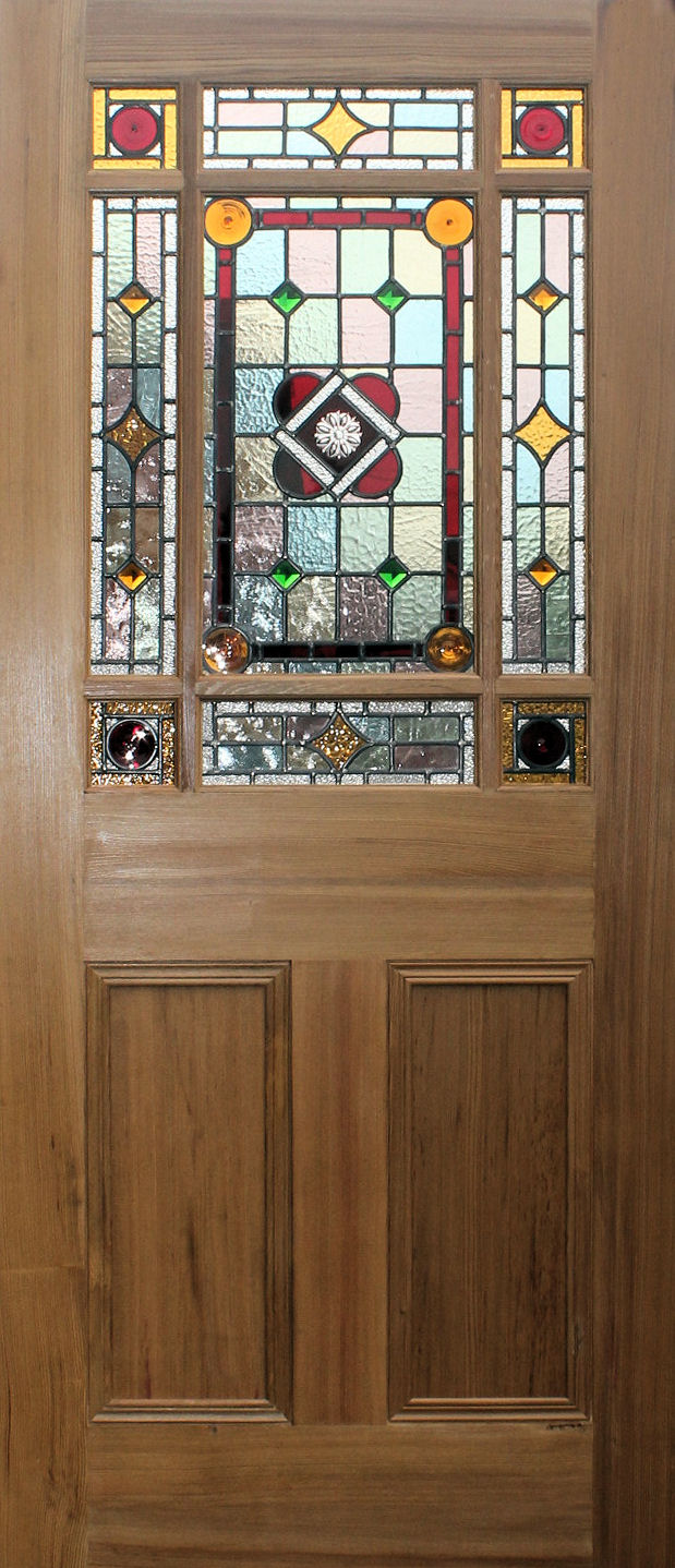 New Stained Glass Internal Doors In Edwardian And