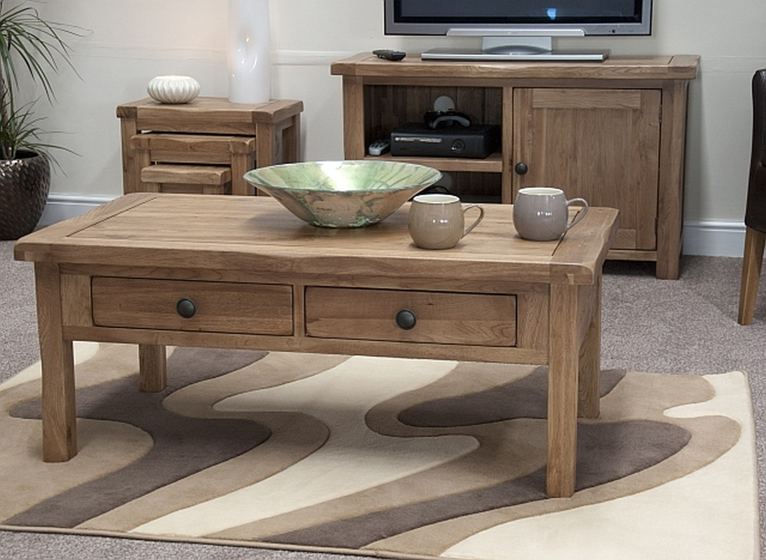 High Quality Of High End Coffee Tables With Drawers On Cool Rug & High End Coffee Tables | HomesFeed