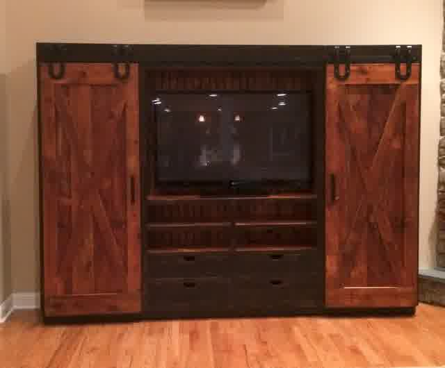 Entertainment Center With Doors Another Choice Of Tv
